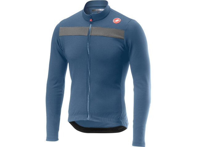 Castelli Puro 3 Full-Zip Jersey Men light steel blue